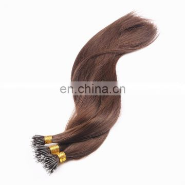 Big Factory Best Quality Shedding Free NO Dry NO Tangle 2G Russian Double Drawn Nano Ring Hair Extension
