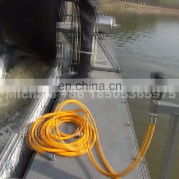 River alluvial gold mining equipment 6 inch gold dredge for sale