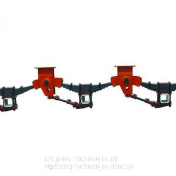Semi Trailer Parts Tri-axle Overslung American Suspension Assy
