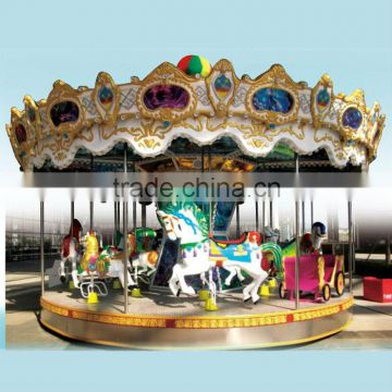 2013 hot sale carousel horse rides for commercial use