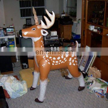 Inflatable Christmas Deer/decorative toy/Inflatable Christmas toys