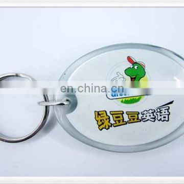 Gift product plastic keychain