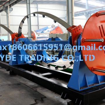 Stranding cage wire stranded equipment cable twisting machine take-up and pay-off device bow type stranding machine