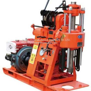The Latest Small Portable Water Well  Hydraulic 200 Meters Mine Borehole Core Drilling Rig
