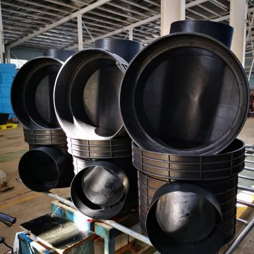 Inspection Well High Density Polyethylene Plastic Sewage Inspection Well