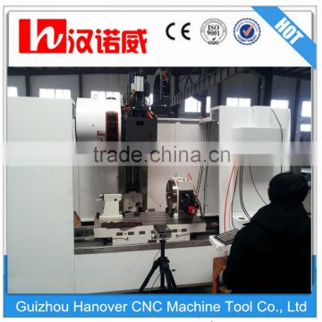 VMC1060 Intelligent aluminum profile processing CNC milling machine / Vertical CNC machining center