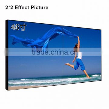 46 inch/55inch Seamless display wall LCD TV Background wall, lcd tv screen for advertising