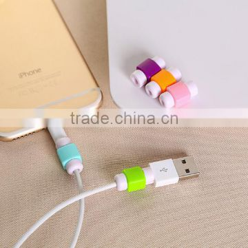 Good design Silicon Protector For Cable data / protector for earphone cable / cellphone cord protector