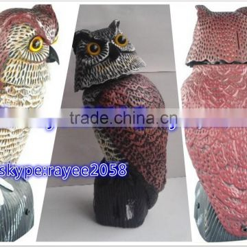 Great Horned Owl Predator Decoy Home Depot Plastic Owl For Bird Control Shine With Solar Panels And Batteries Of Sport Net Sports Equipment From China Suppliers 138924797