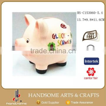 Small Kids Gift Cheap Ceramic Piggy Coin Saving Boxes Money Bank