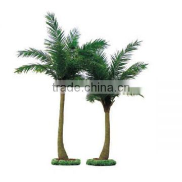 LXY082406 mini plastic palm trees artificial outdoor palm trees sale coconut tree with cheap price