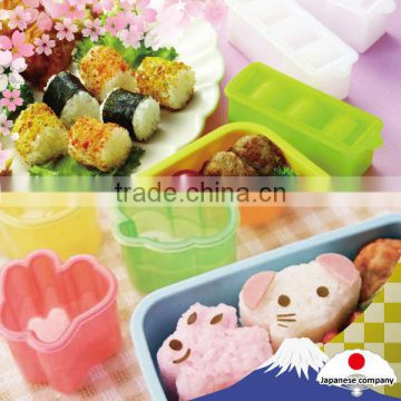 """Rice ball mold"" for easy preparation for ""Kawaii Bento"""