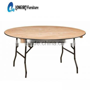 high quality wooden banquet table plywood folding table restaurant table
