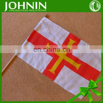 promotional custom polyester printed 30*45cm national hand flag