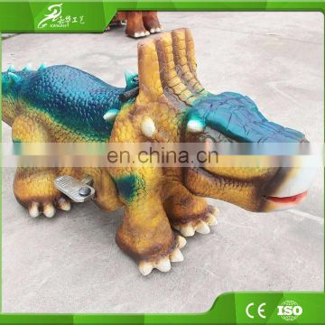 KAWAH 2016 Hot sale coin operated outdoor playground dinosaur riding toys