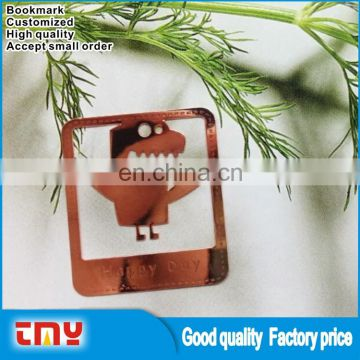 Lovely Design Custom Made Metal Bookmark with High Quality