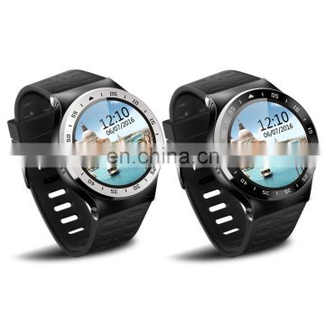 S99A Quad Core 3G Smart Watch GPS WiFi Pedometer Heart Rate Smartwatch