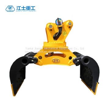 Hydraulic Rotating Demolition Grapple Attachments