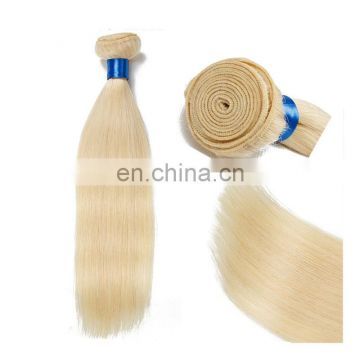 Ms Marry no tangle no shedding human hair weaving wholesale price blonde color hair extensions color 60# brazilian hair bundles