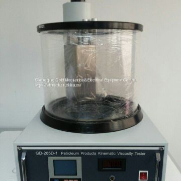 High Precision Double Shell Kinematic Capillary Viscometer Bath Viscosity Testing Apparatus