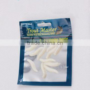 Popular 30mm 1g The Simulation Maggots Lure Soft Balpits