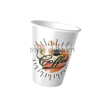 Factory Single Double Ripple Wall disposable juice Paper coffee Cups with lid