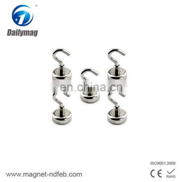 Strong Neodymium Magnet Hooks, Ultra Heavy Duty Magnetic Hook