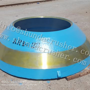 Metso GP300 cone crusher standard mantle/concave/cone supply