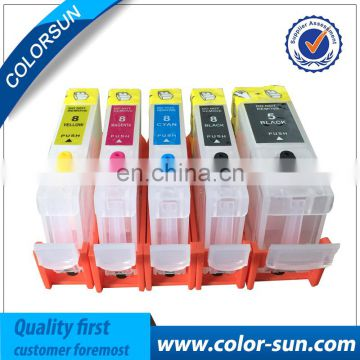 high quality Refillable Ink Cartridge for Canon pgi5 cli8 first series with ARC chip