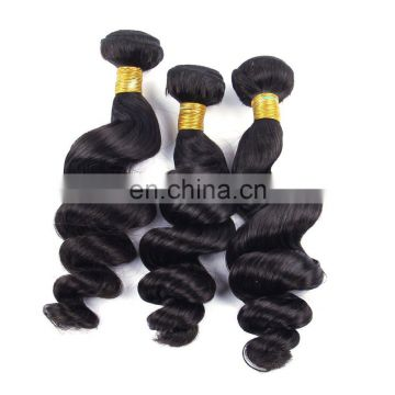 2016 New arrival high quality soft thick double drawn virgin malaysian loose wave hair
