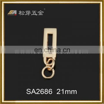 Customized hot selling sportswear zipper puller