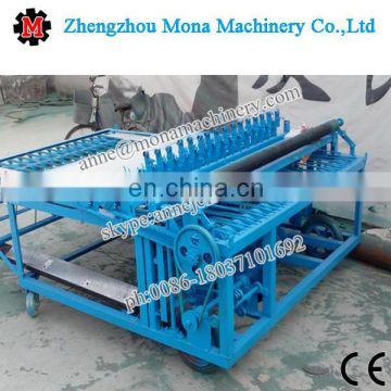 High efficiency bamboo/reed/straw/grass mat weaving/knitting machine with lowest price