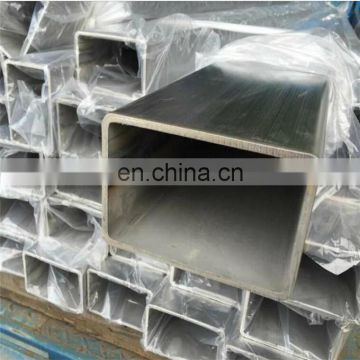 polished 201 321 Stainless Steel Square Pipe price