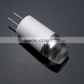 80LM,12V,2W,CE,cree LED indoor light,decorative light,heat conductive PC housing G4 bulb