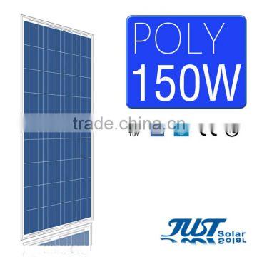 High quality 150 watt polycrystalline solar panel for home solar panel kits  paneles solares with CE Tuv