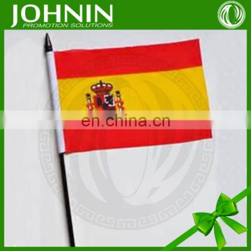 Customized Hot sale large numbers of National Hand Shaking Flags