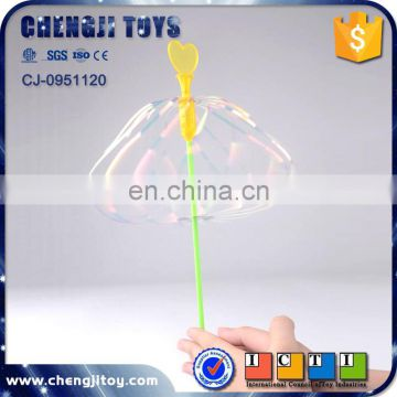 Funny game swirly twirly stick flashing bubble new toys for kid 2016