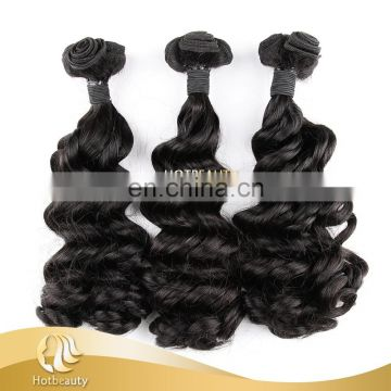Alibaba Express Top Quality Double Drawn Funmi Spanish Curl Hair