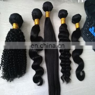 Hot sale good feedback human hair 100% human hair extension natural color body wave indian hair weaving