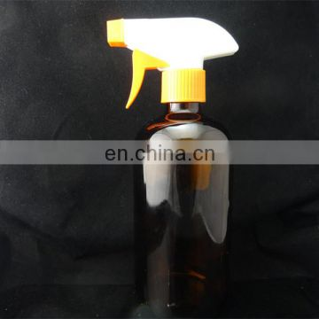 8oz amber glass bottles with trigger sprayer,cleaning spray bottle glass