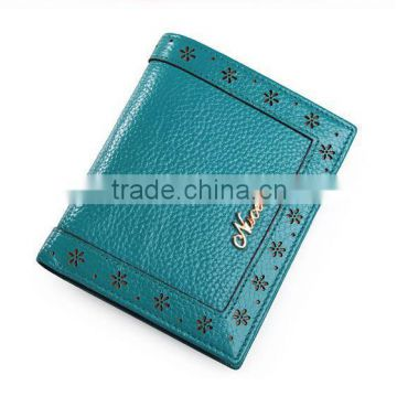 RFID Blocking Vintage Style Short Women Wallet/lady purse