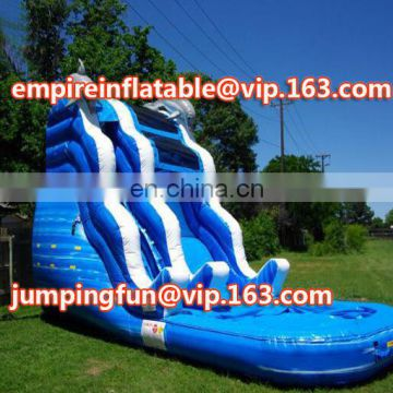 Medium size inflatable slide for outdoor or indoor play ID-SLM009
