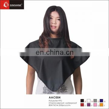 cutting collar for professional hair salon coloring dressing