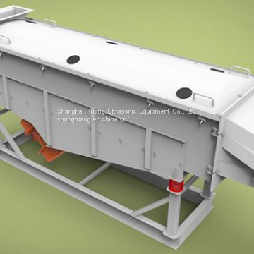 Agricultural Large Capacity Linear Vibrating Sieve used for dehydrator