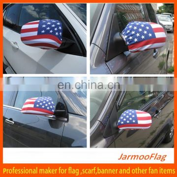 national holiday decorative car mirror cover