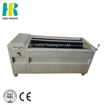 High efficiency brush type washer for potato in factory potato carrot peeler for sale