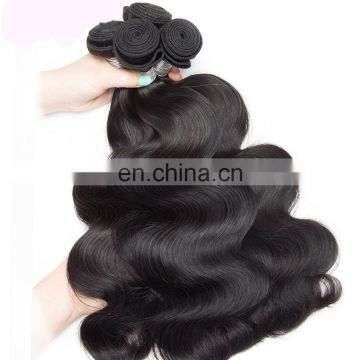 Cheap straight hair weave body wave unprocess virgin brazilian hair