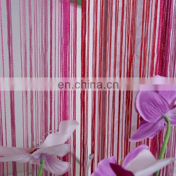 Rainbow string curtain with multi-color