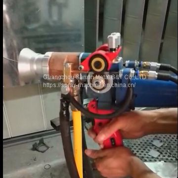 metal alloy wire feeding arc spray machine, repairing coating thermal spray machine, surface treatment thermal coating machine