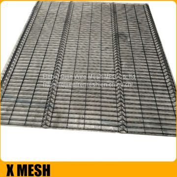 Bending Triangular Galvanized Welded Temporary Wire Mesh Fence